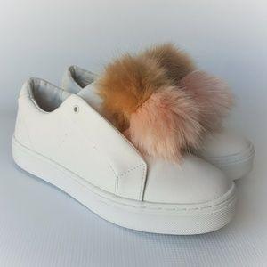 Sam Edelman LEYA Fashion Sneaker White Size 9